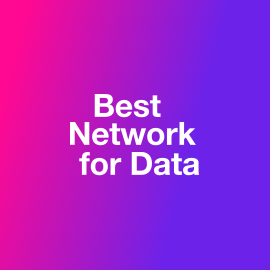 Best Network for Data