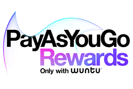 Pay As You Go rewards - only with wuntu