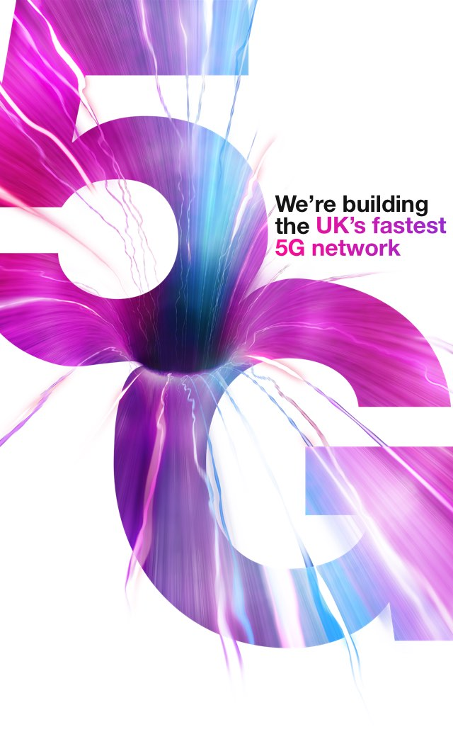 5G owned. We're building the UK's fastest 5G network