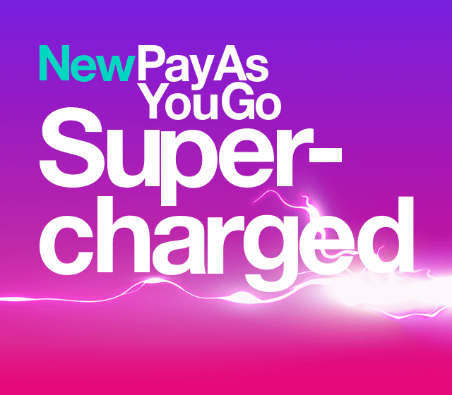 New PAYG Supercharged